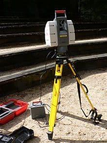 Exemple de scanner LiDAR terrestre