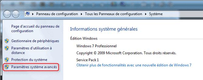 Informations Système Générales
