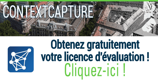 ContextCapture - Version d'évaluation