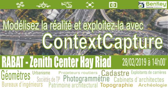 Rabat 28-02-2019 - Séminaire ContextCapture