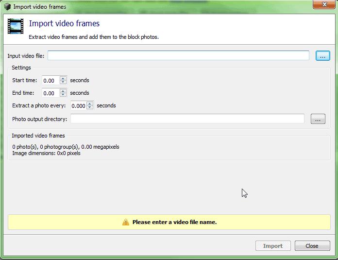 T&A ContextCapture Trucs et Astuces  Utilisation de vidéos dans ContextCapture